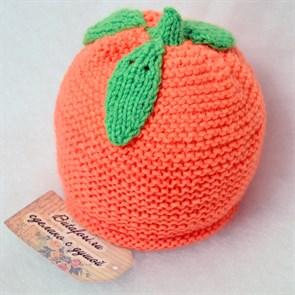 Аксессуары для фотосессии новорожденных - шапочка Апельсин