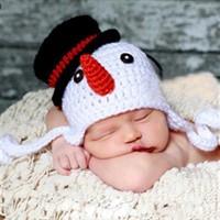 Шапочка Снеговик