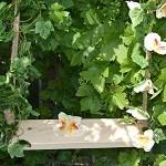 Как крепятся подвесные качели?
