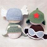 Новинки в коллекции шапочек для фотосессии новорожденных