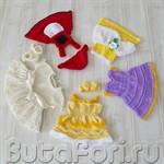 Платья принцесс для фотосессии новорожденных - Новинка!
