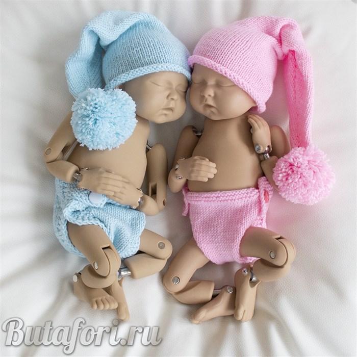 Вязаные костюмчики для близнецов
