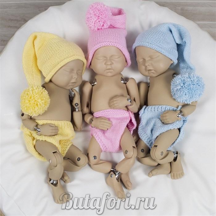 Вязаные костюмчики для фотосессии новорожденных