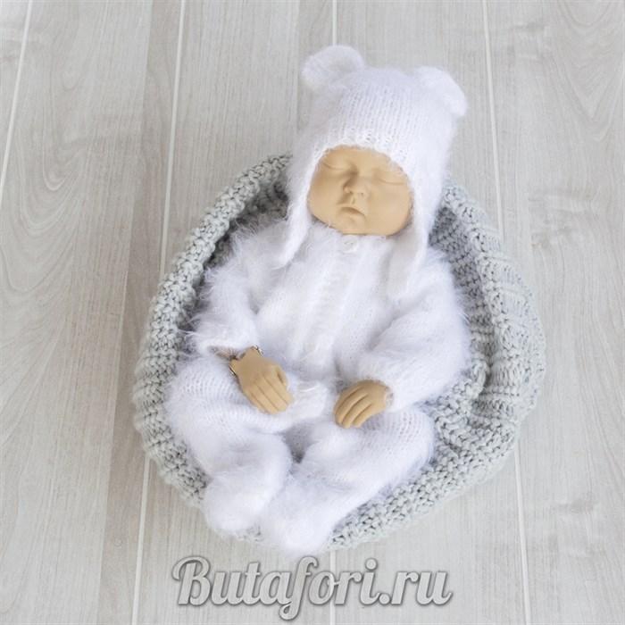 Вязаный костюмчик Пушистый Мишка