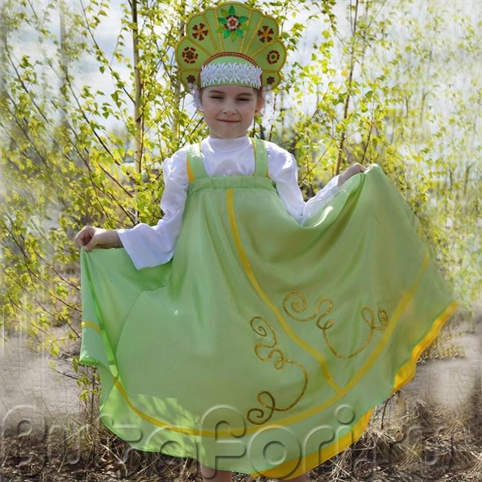 Сарафан и кокошник для русских народных танцев