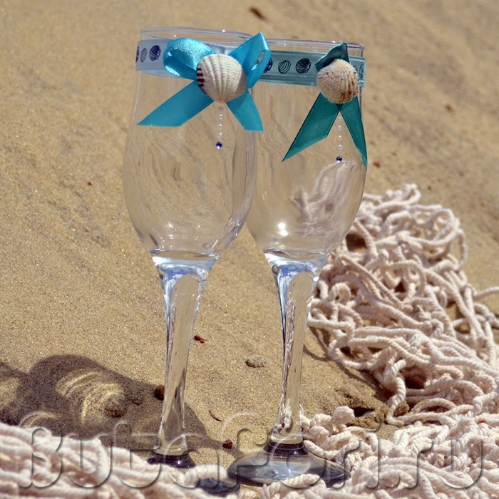 бокалы для свидетелей морские
