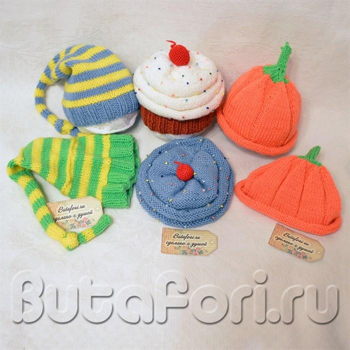 Шапочки для фотосессии новорожденных