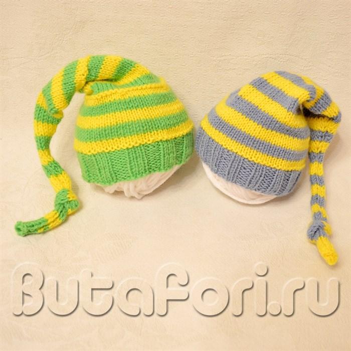 Набор шапочек для новорожденных