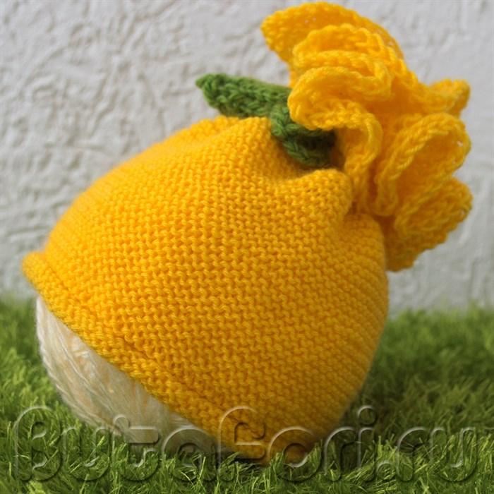 Цветочная шапочка Одуванчик