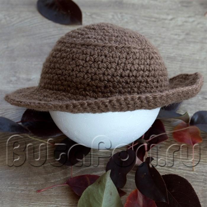 Шляпа для фотосессии новорожденных