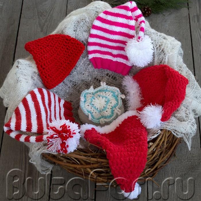 Коллекция шапочек для newborn съемки