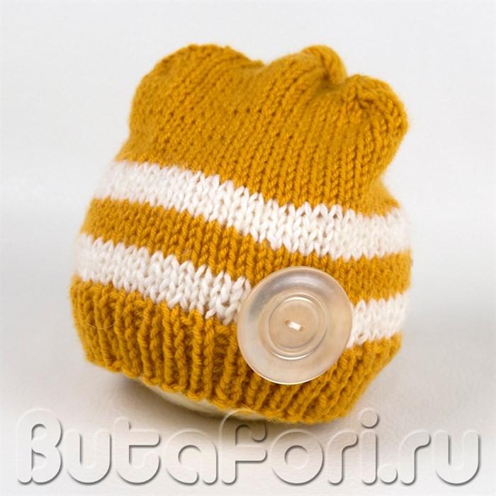 Колпачок Лесоруба для фотосессии новорожденного