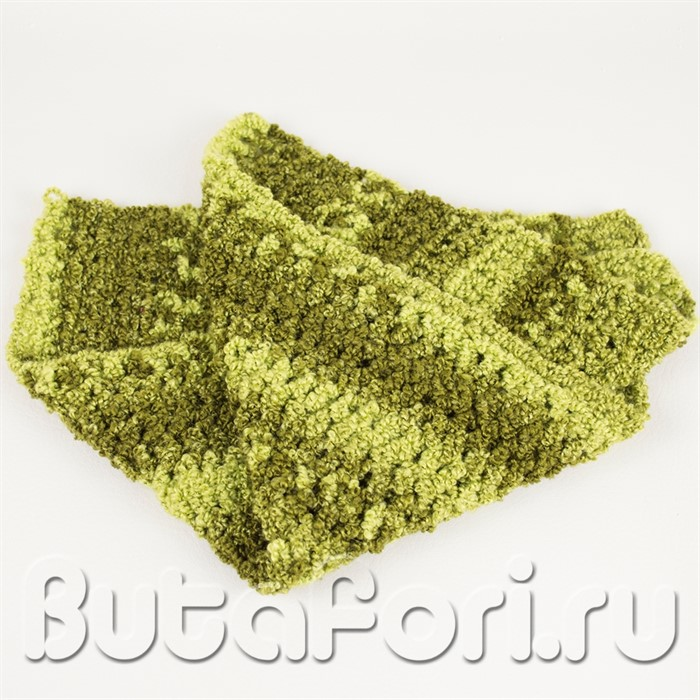Зеленый коврик для фотосессии