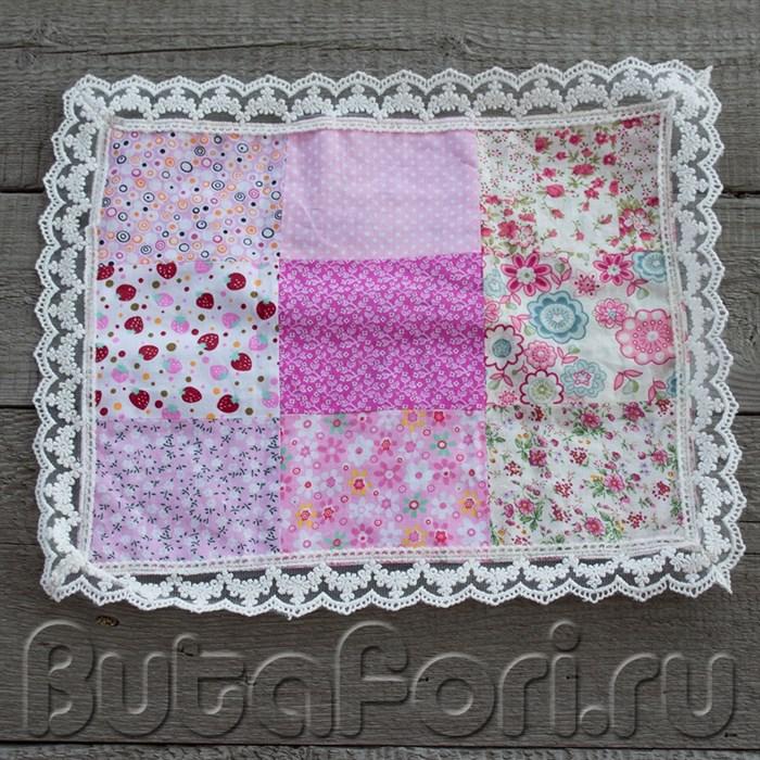 Двустороннее одеяло для новорожденного