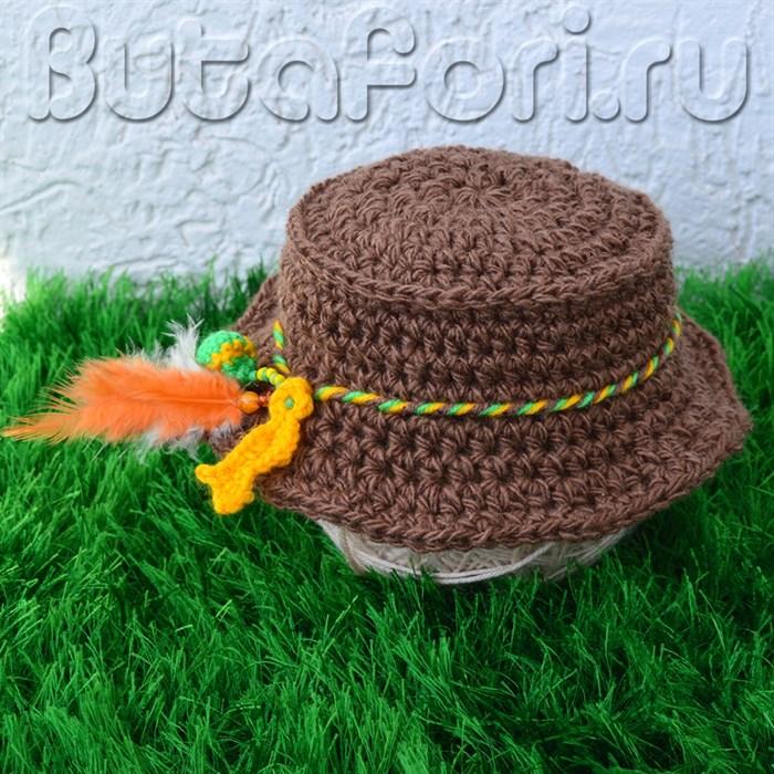Одежда для фотосессии новорожденного - Шляпа рыбака
