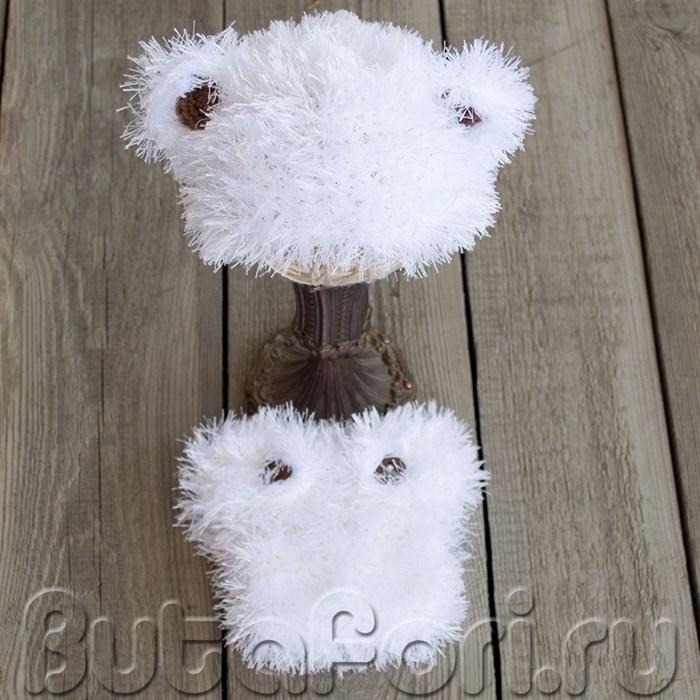 Вязаный костюм Полярный Мишка