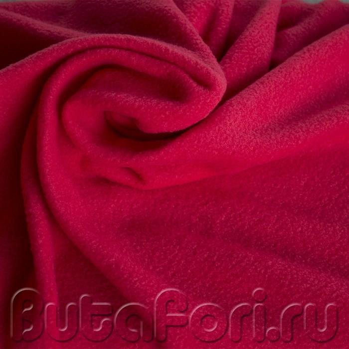 Флисовый фон красного цвета