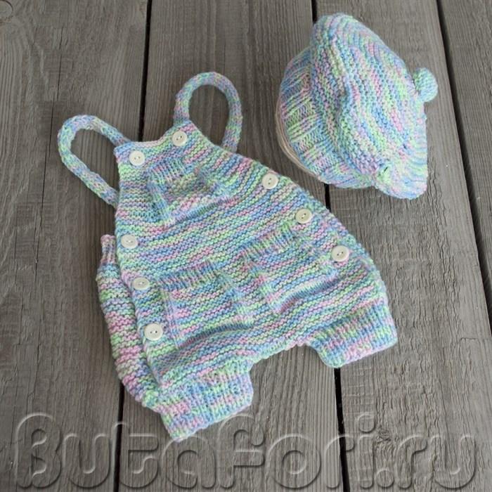 Одежда для фотосессии новорожденных - Костюмчик Пикассо