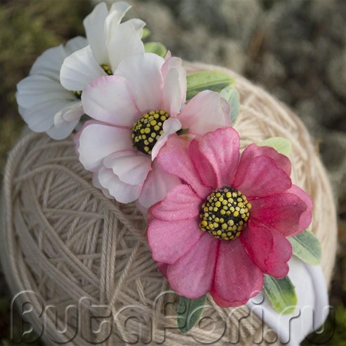 Аксессуар для фотосессии - цветочная повязочка