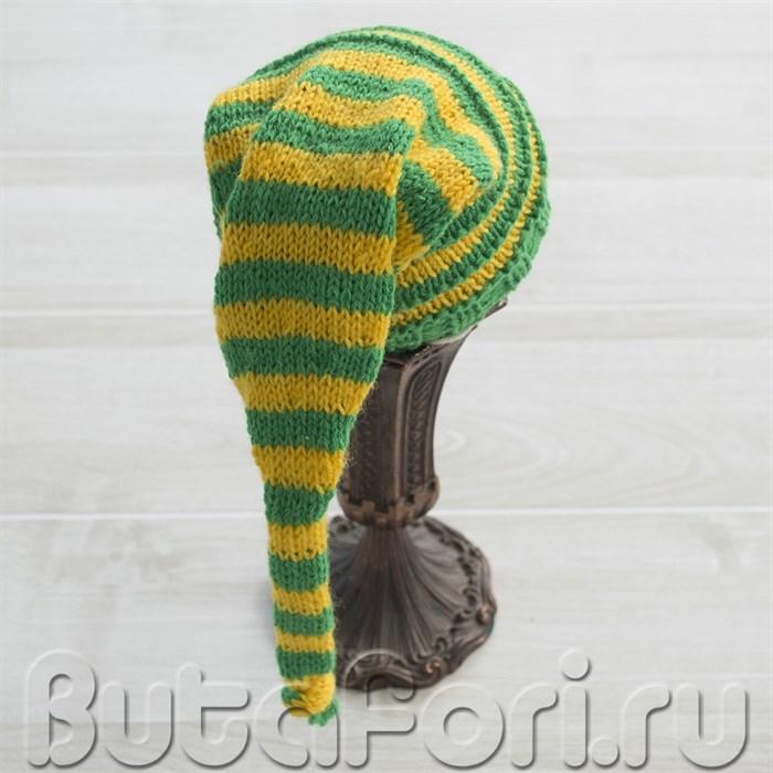 Зелено-желтый колпак для фотосессии