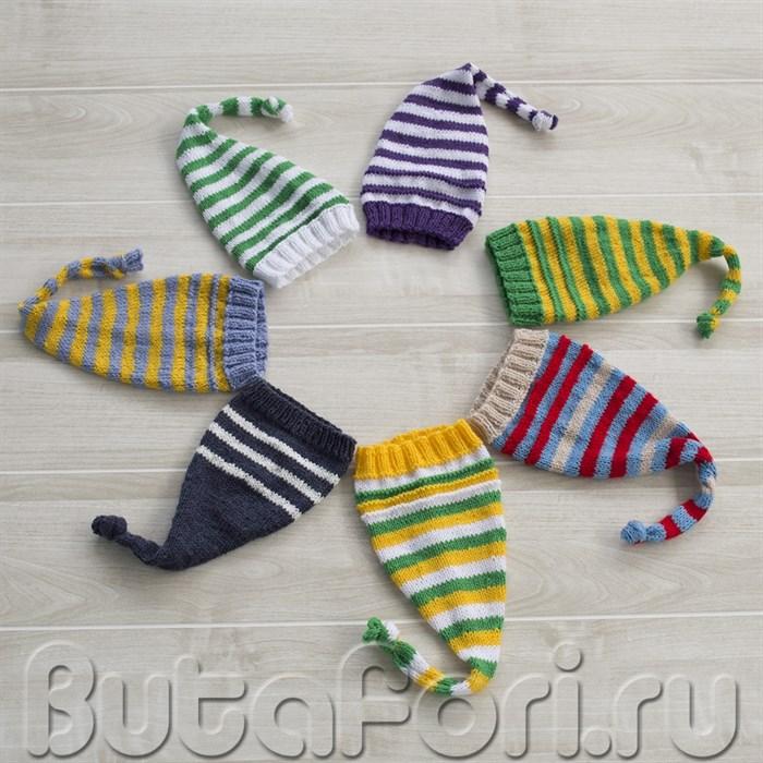 Шапочки колпаки для новорожденного