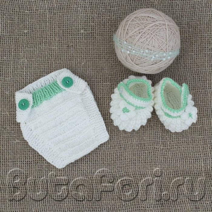 Костюмчик Мята для новорожденного