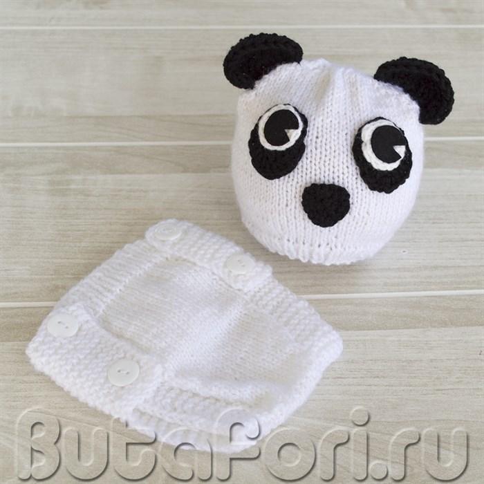 Одежда для фотосессии новорожденных - Панда