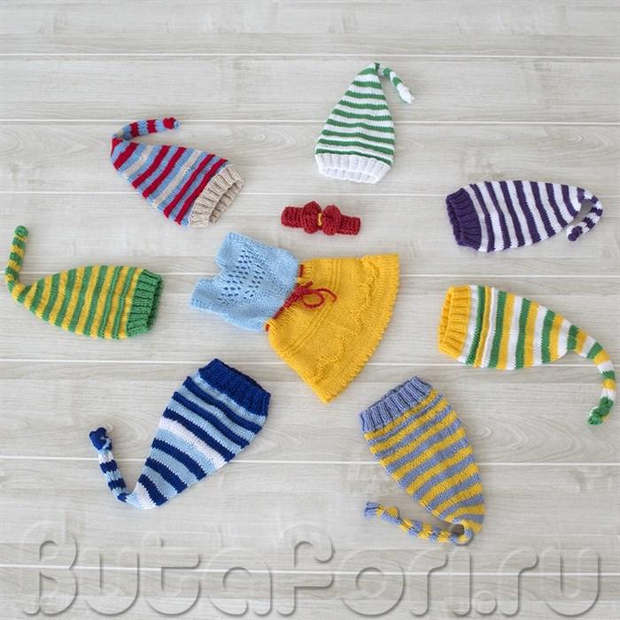 Комплект одежды для фотосессии новорожденных Белоснежка и 7 гномов
