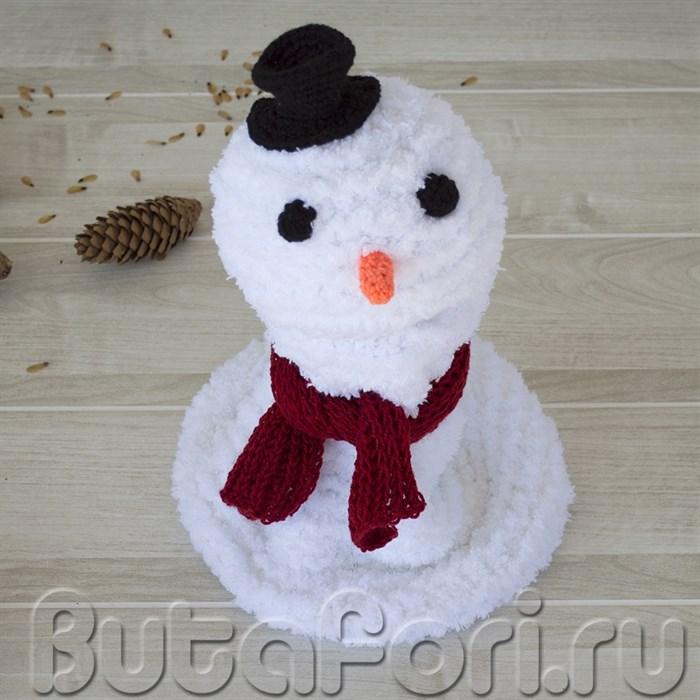 Комплект реквизита для фотосессии - снеговик