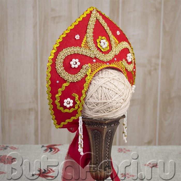 Русский национальный костюм - кокошник для младенца