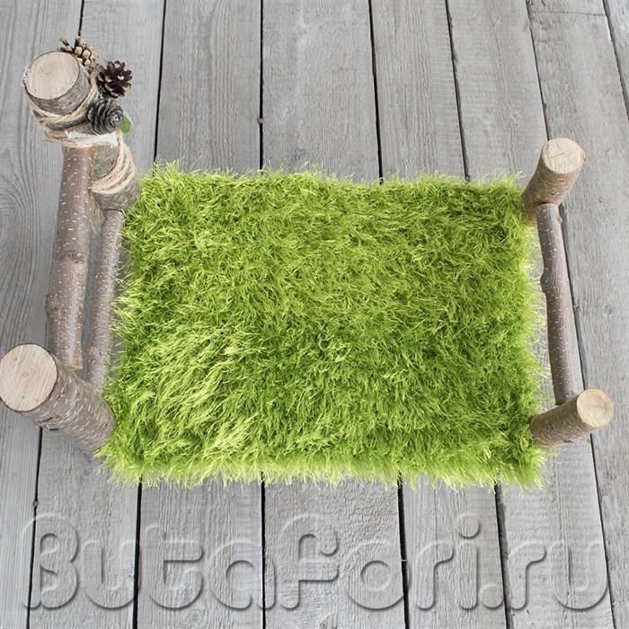 Кроватка и коврик для фотосессии младенцев