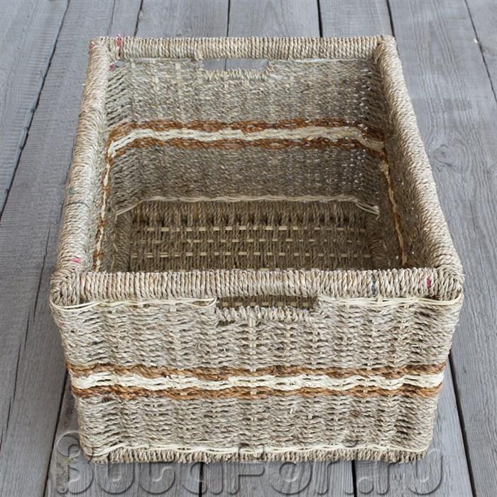 Плетеная корзина для новорожденных