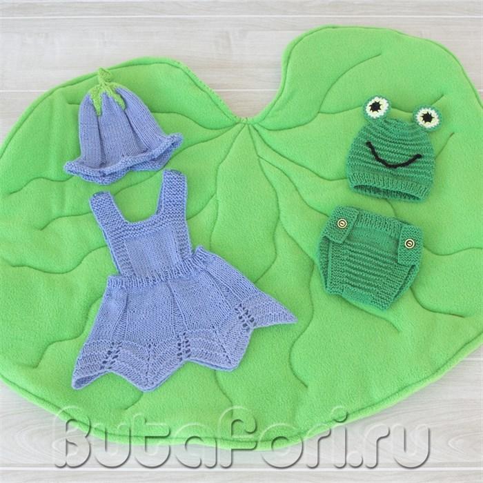 Комплект реквизита Дюймовочка и лягушка