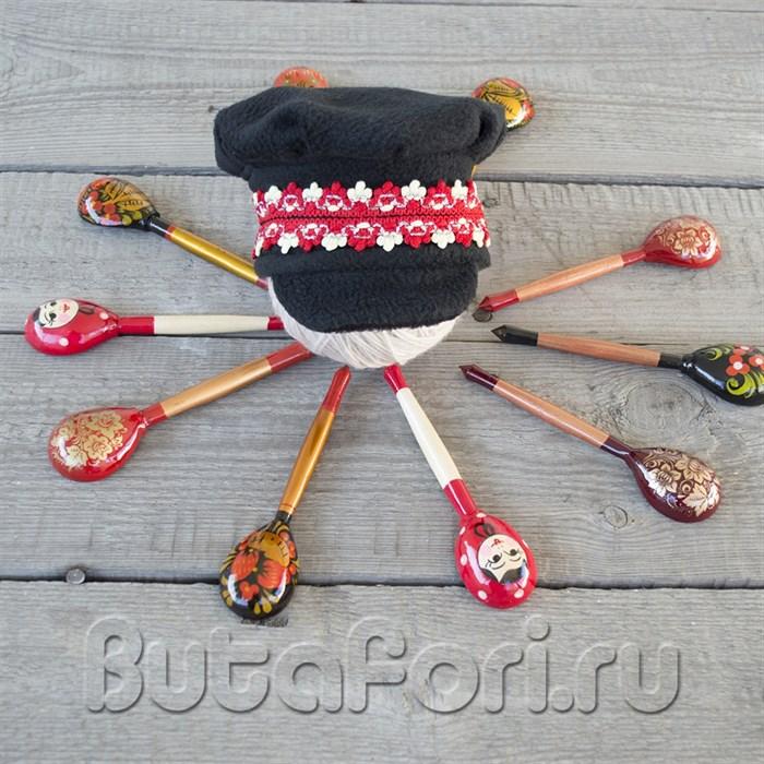 Русский национальный костюмчик - шапочка Картуз