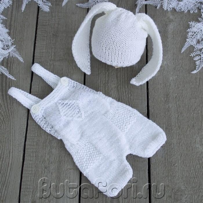 Белый костюмчик Зайчишки