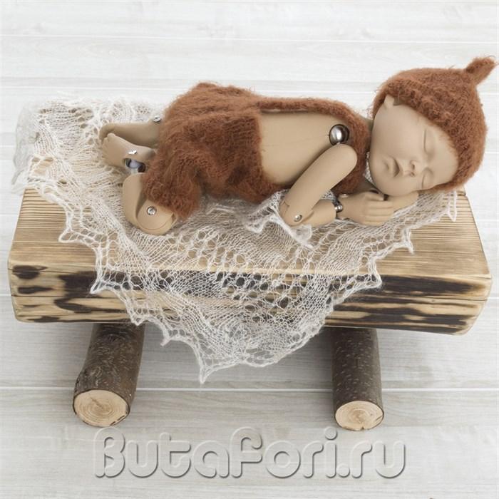 Вязаный костюмчик Мохнатый Мишка
