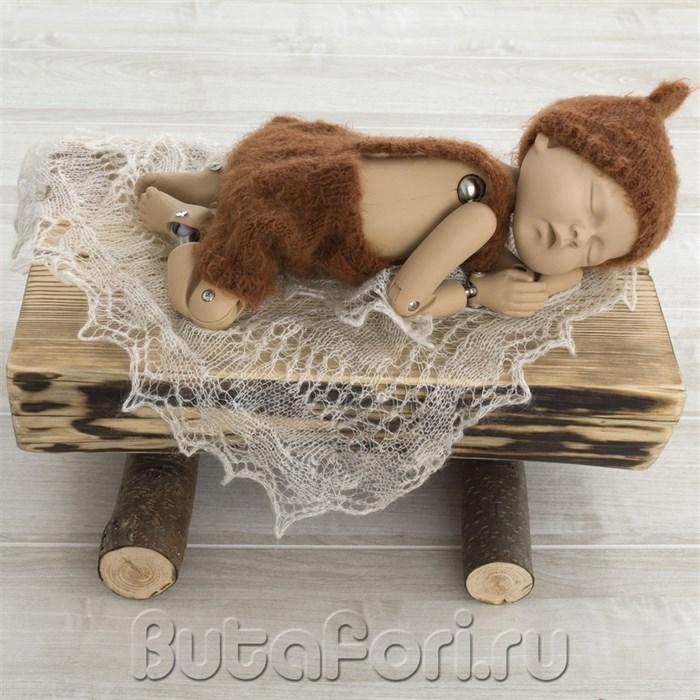 Бревнышко для фотосессии новорожденного