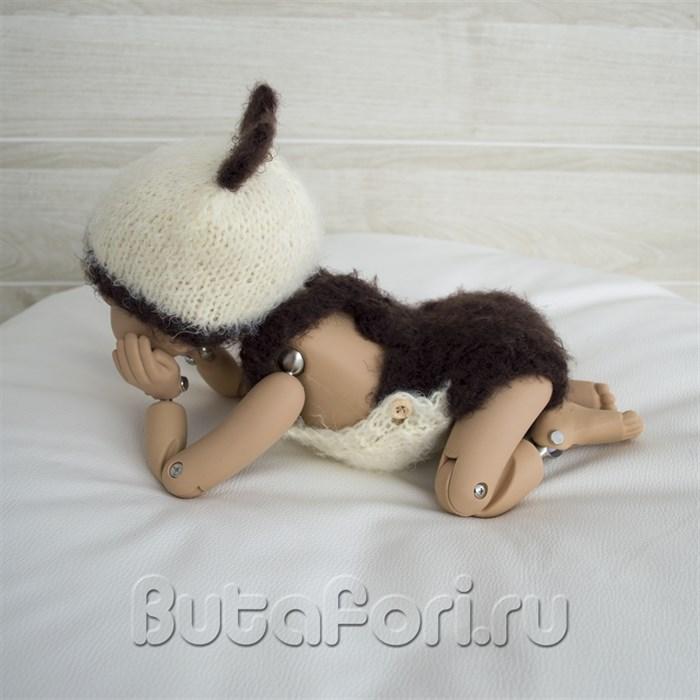 Одежда для фотосессии новорожденных - костюмчик Опоссума
