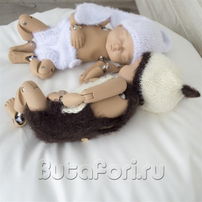 Костюмчики для близнецов - Кролик и Опоссум