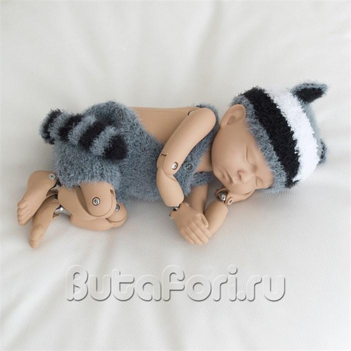 Костюмчик Енота для фотосессии новорожденного