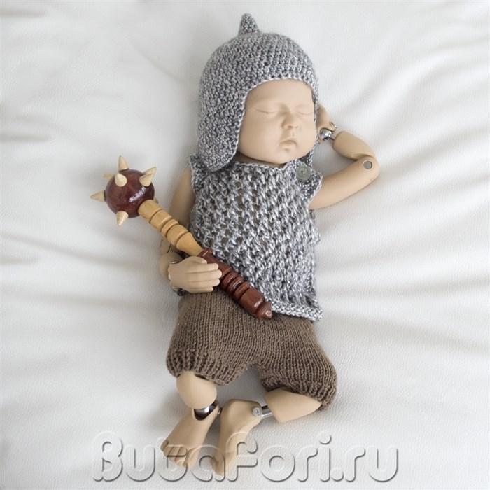 Одежда Богатыря для фотосессии новорожденных