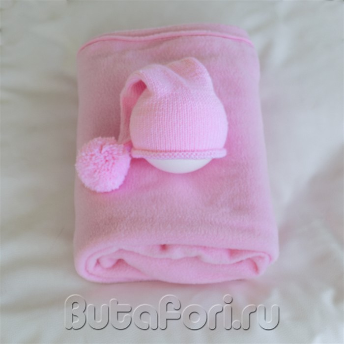Розовый комплект для фотосессии девочки