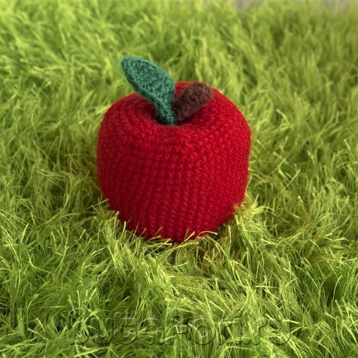 Вязаное яблочко