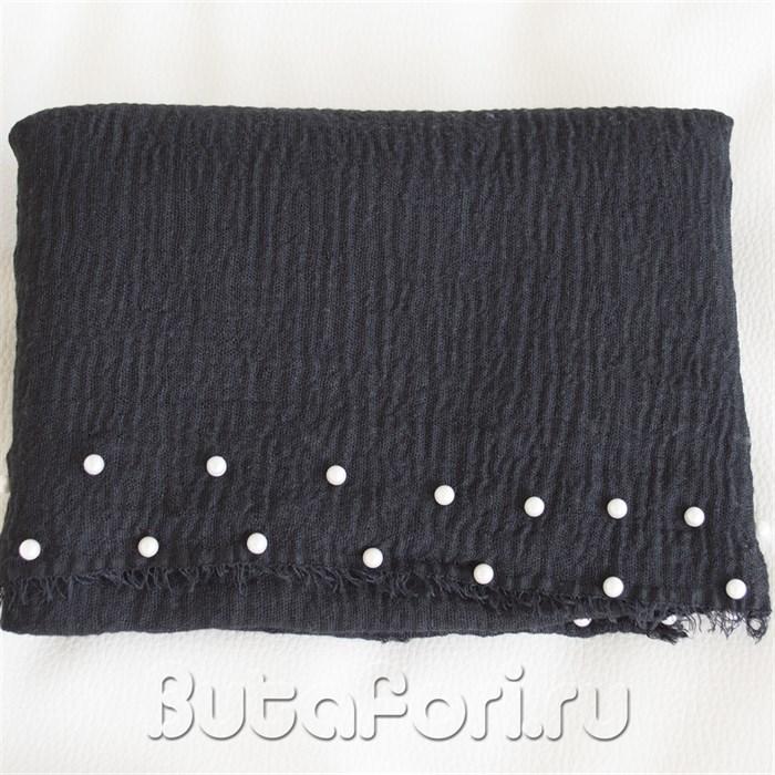 Черная обмотка с бусинами