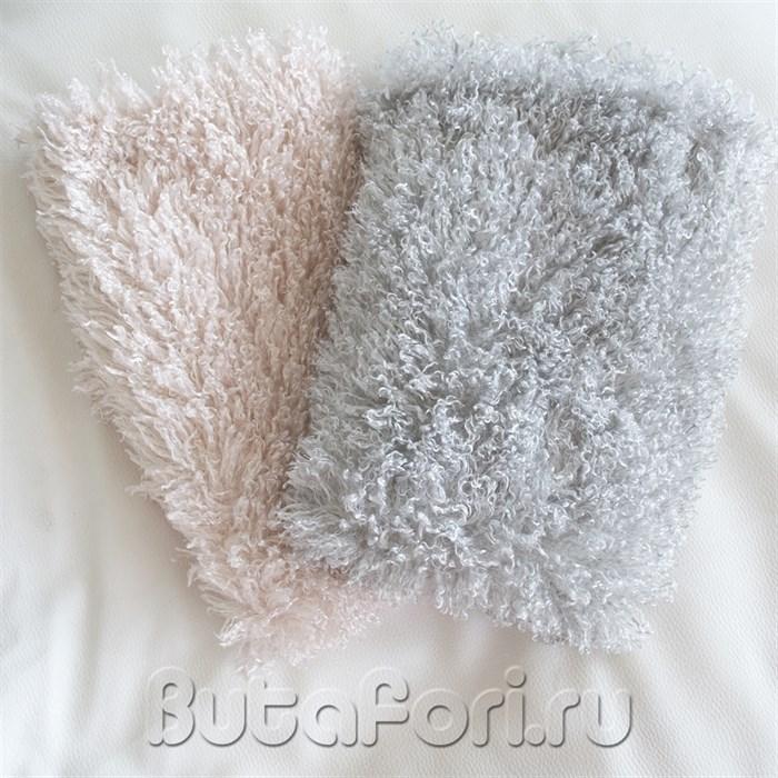Мохнатые коврики