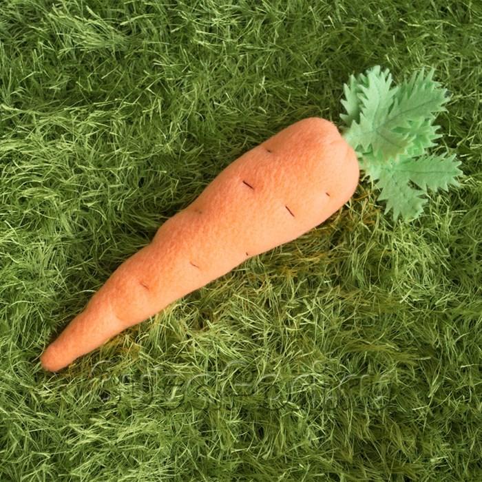 Морковка из флиса для фотосессии новорожденных