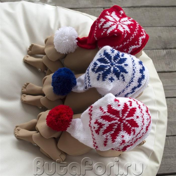 Комплект шапочек для новогодней фотосессии