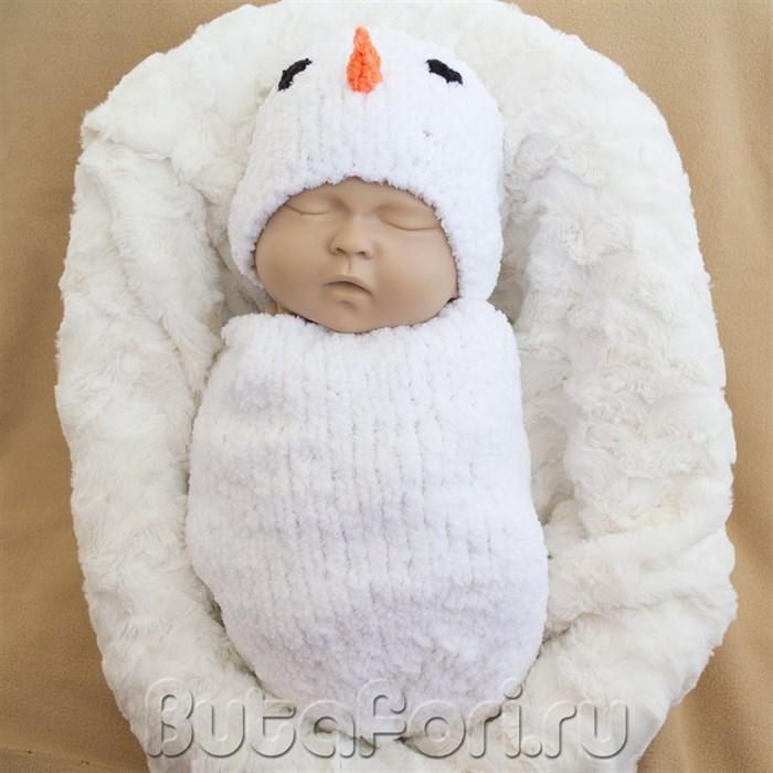 Костюмчик снеговичка для новогодней фотосессии