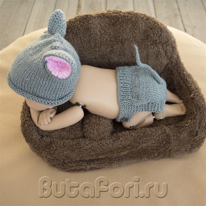 Костюмчик мышонка для фотосессии новорожденных