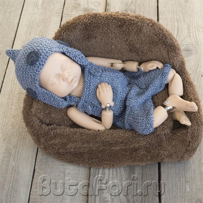 Богатырский костюмчик для фотосессии новорожденных